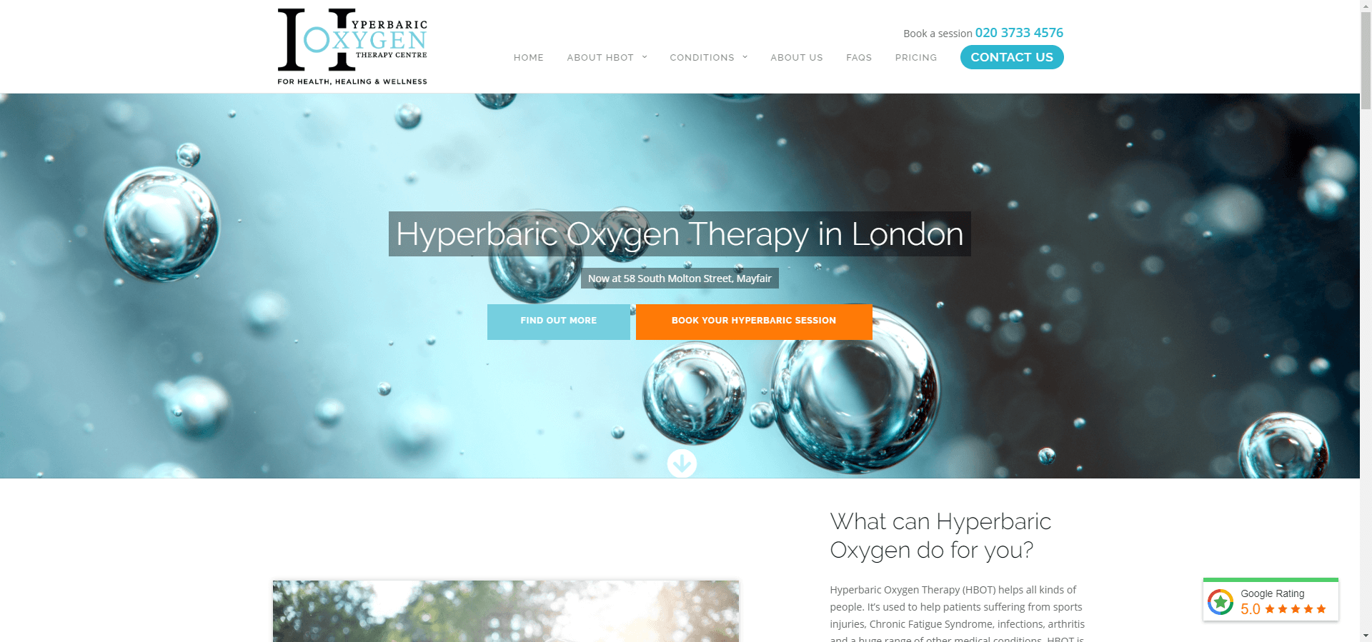 hyperbaricoxygentherapy.co.uk