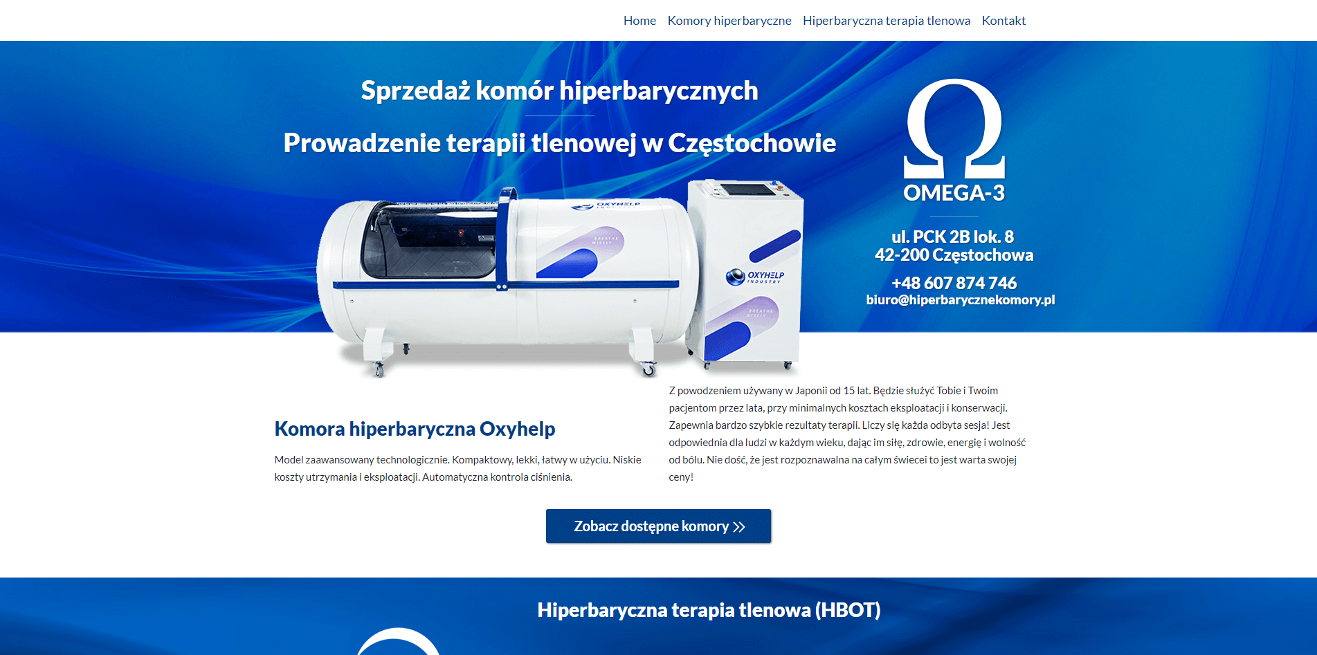 hiperbarycznekomory.pl